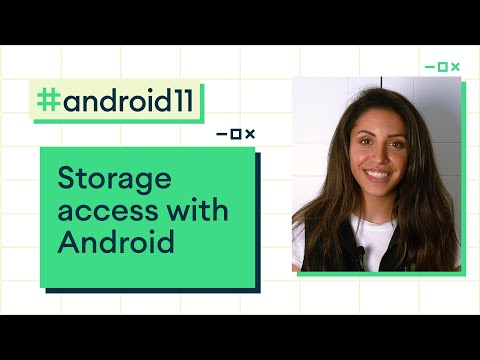 Storage access with Android 11