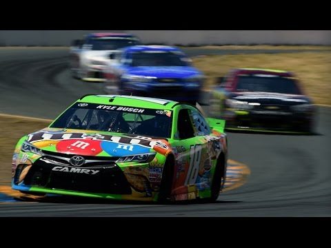 NASCAR Sprint Cup Series - Full Race - Toyota - Save Mart 350 at Sonoma