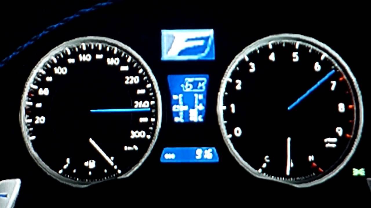 Lexus IS-F Top Speed Run -GT6- - YouTube