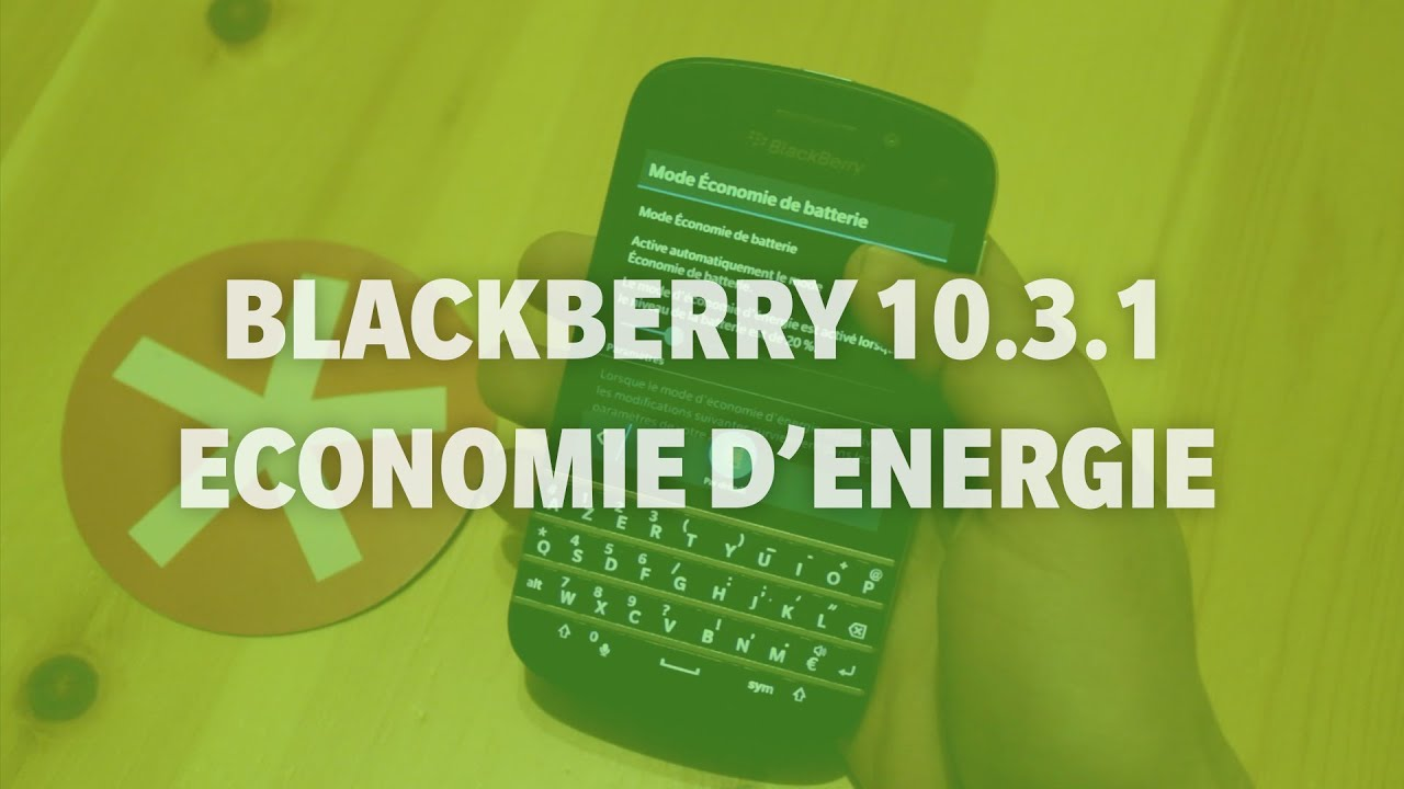 blackberry 10 3 1 mode conomie d 39 nergie addicts blackberry 10 youtube. Black Bedroom Furniture Sets. Home Design Ideas