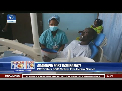 Post Insurgency: PCNI Offers 5,000 Adamawa Victims Free Medical Service