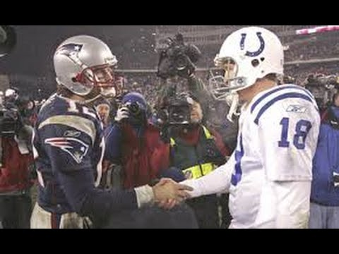 Tom Brady Vs. Peyton Manning Rivalry (Patriots vs. Colts/Broncos)