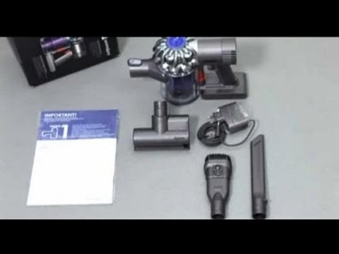 Dyson DC58, DC61, V6 Trigger and V6 Mattress - Getting started (Official Dyson video)