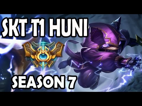 SKT T1 Huni Kennen vs Pantheon TOP Ranked Challenger Korea