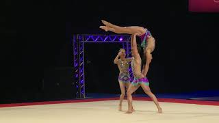Acrobay GC - 12-18 WG - Combined Finals - 2019 British Acrobatic Championships