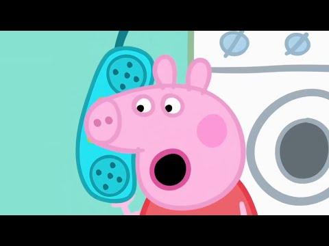 Свинка Пеппа на русском все серии подряд   Самоизоляция Дедушки Кролика на маяке   Мультики