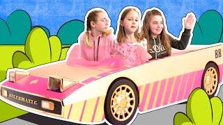 Амелька ВЫИГРАЛА  СУПЕРПРИЗ! Девочки спорят, что же за приз будет: миллион долларов или машина?