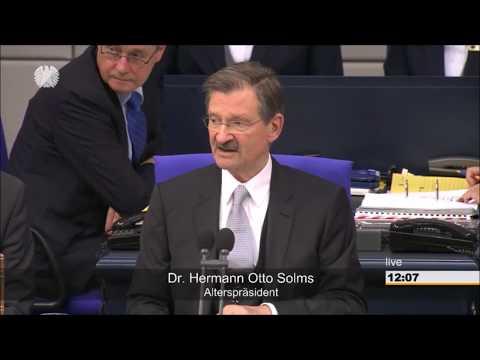 19. Bundestag: Wahl von Schäuble als Präsident und seinen Stellvertreter/innen