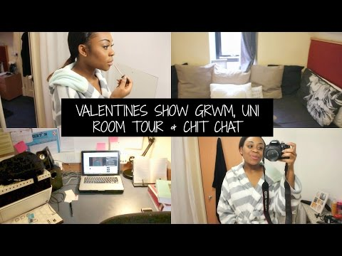 #VLOG PART 1: Mini GRWM, Uni Room Tour & Chit Chat on Feeling Inadequate | TIMEFORTEE