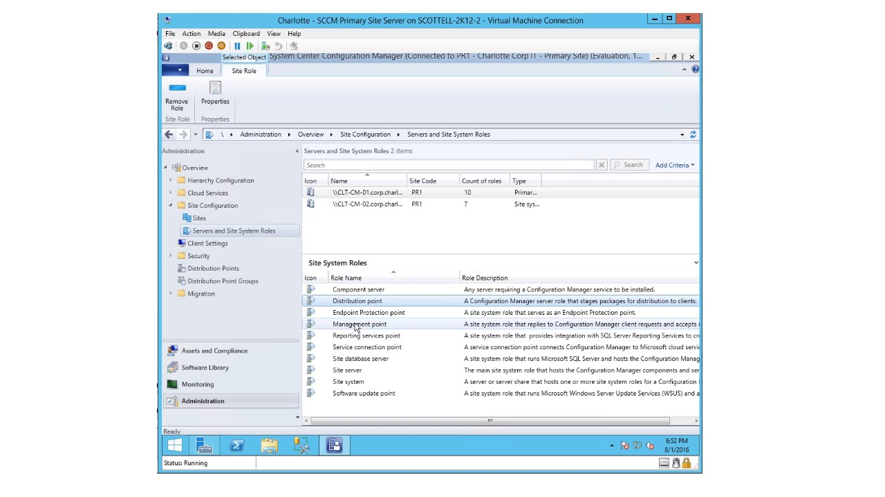 How to use configuration manager current branch to deploy windows 10