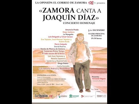 Zamora canta a Joaquín Díaz (3-12-17)