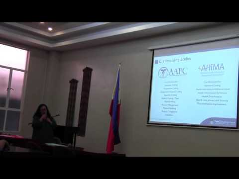 TDS at CEU Nursing Informatics Seminar - Part 2