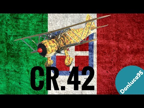 "War Thunder ITA #98 - CR.42 Real Battle ""Un Falco Guerriero"""
