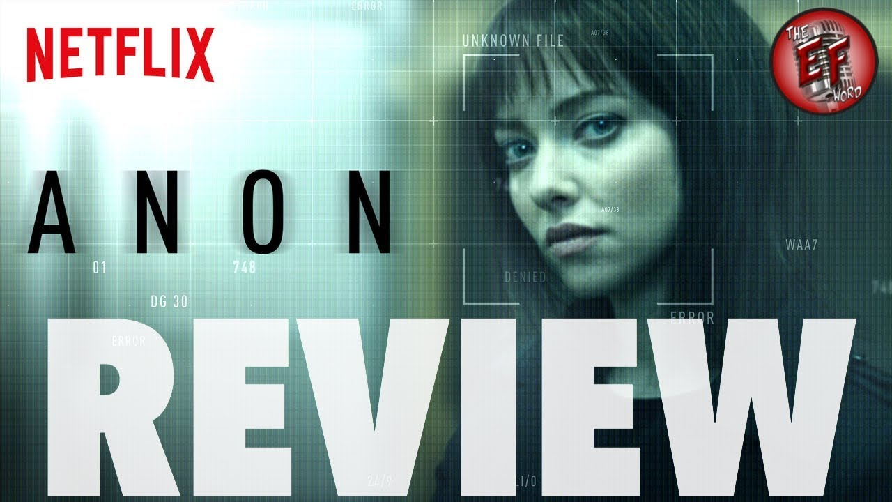 Download Anon (2018) Netflix Review