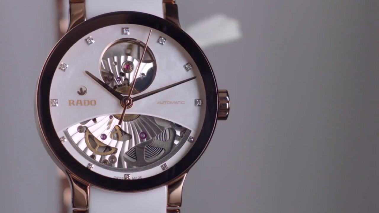 c2f1a4ea1 Rado Centrix Open Heart R30246013 Watch with Silver Dial for Women - Ethos  Watch