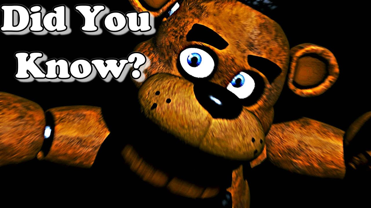 Facts about five nights at freddy s did you know youtube