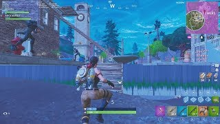 FORTNITE BUG - What's under Tilted Towers