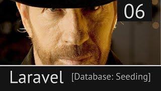 Laravel урок №6: [ Seeds - заполнение БД тестовыми данными ]