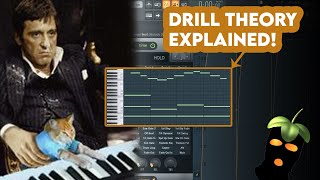 BEGINNERS GUIDE TO DRILL MELODIES! (How To Make UK Drill Melodies - FL Studio 20)