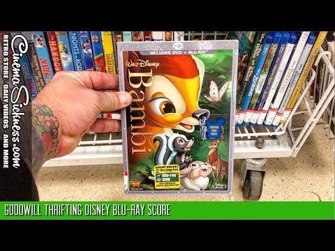 Goodwill Thrifting Disney Blu-ray Score