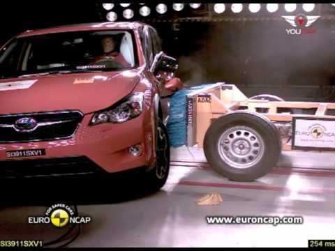 CRASH TEST 2012 Subaru XV  YouTube