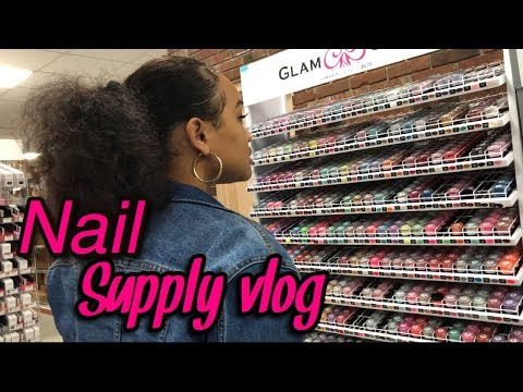 Vlog: Nail Supply Run 🏃🏻‍♀️