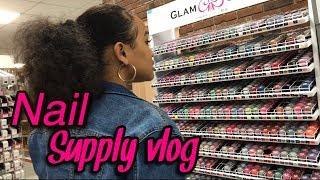 Vlog: nail supply run 🏃🏻♀️