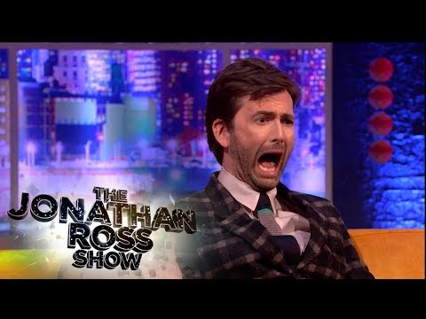 David Tennant On Having A Cockapoo - Jonathan Ross Classic