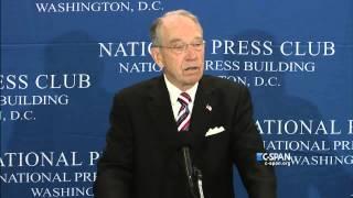Sen. Chuck Grassley on Cameras in the Supreme Court (C-SPAN)