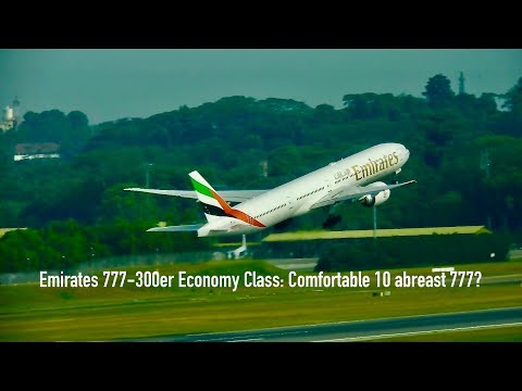 Emirates NEW Economy Class 777-300er: Dubai to Singapore Full Flight Review