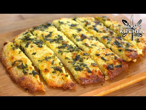 Garlic Bread - Low Carb, Keto Diet Fast Food!