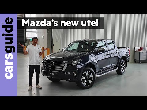 2021 Mazda BT-50 revealed: New 4x4 ute inside and out
