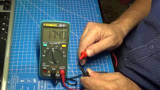ZT102 continuity beeper / тест звуковой прозвонки
