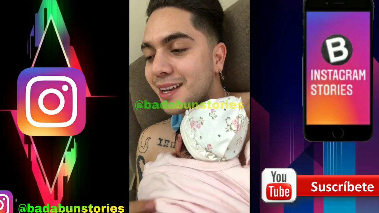 Juan de Dios Pantoja llora al tener a su hija en sus brazos