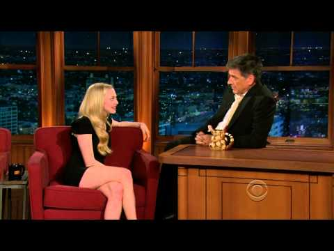 Late Late  with Craig Ferguson 5142010 Amanda Seyfried, Isabel Allende
