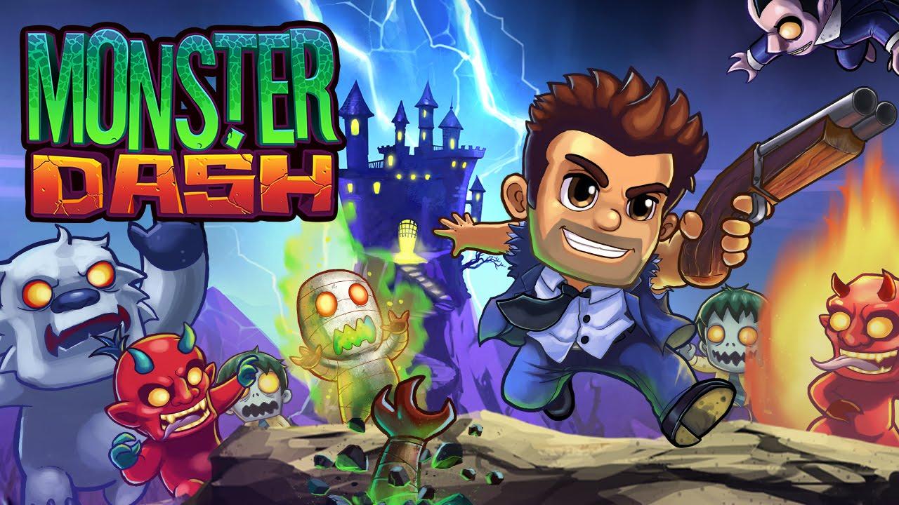 Скачать игру monster dash на компьютер