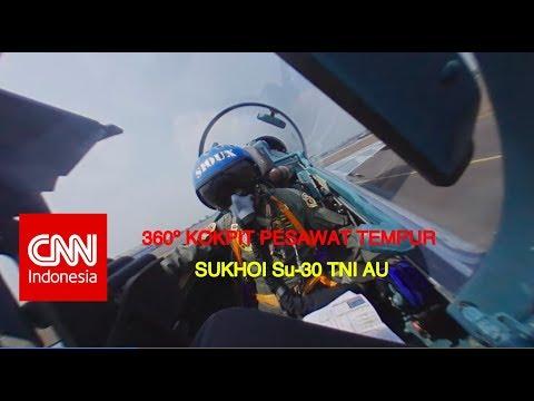 Eksklusif & Pertama!! Camera 360° Flypass Su-30 TNI AU ; HUT Kemerdekaan ke-73 RI #BersatuIndonesia