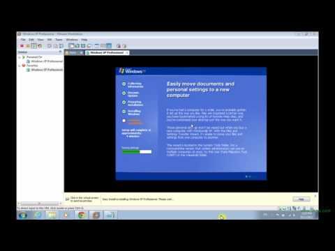 Cài đặt WinXP trên máy ảo