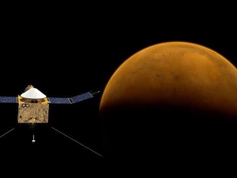 NASA's Maven Spacecraft Makes It To Mars