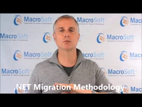 .NET Migration Methodology