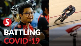 Track cyclist first athlete to receive Covid-19 vaccine