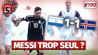 Replay #190 : Débrief Argentine vs Islande (1-1) COUPE DU MONDE 2018 - #CD5