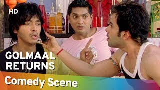 Golmaal Returns -  Tusshar Kapoor - Shreyas Talpade - Hit Comedy Scene - Shemaroo Bollywood Comedy