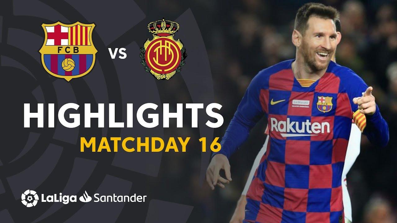 Highlights Fc Barcelona Vs Rcd Mallorca   Youtube