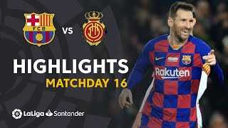 Highlights FC Barcelona vs RCD Mallorca 5-2