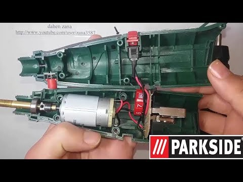 Mini drill repairing_ Fix PARKSIDE PFBS 9.6 A1 - How to test mosfet (video 31)
