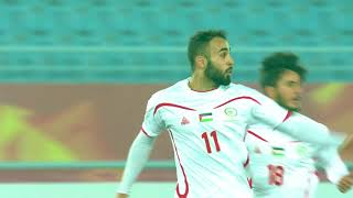 Late drama as Mohamed Darwish scores a freekick for Palestine!