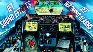 Inside Cockpit Of A Fighter Jet Sound Effect / Jet Fighter Danger Warning Alarm Sounds Royalty Free
