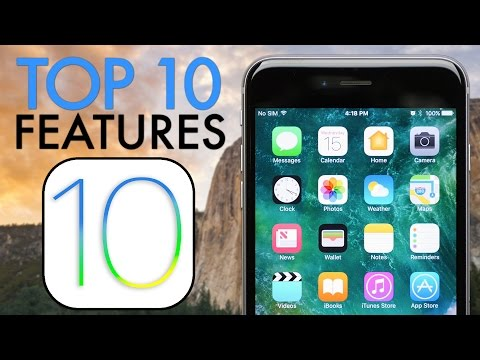 Top 10 iOS 10 New Features!