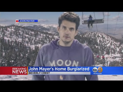 John Mayer's Home Hit By Burglars Who Steal More Than $100,000 In Property